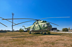 Old Russian helicopter Royalty Free Stock Images