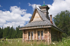 Old Russian house Royalty Free Stock Photography