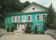 Old Russian house Royalty Free Stock Images