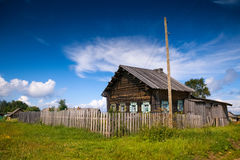 Old russian house. Old russian wooden house (izba Royalty Free Stock Image