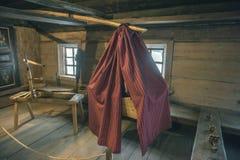 Old Russian log hut Royalty Free Stock Photo