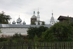Old Russian monastery. Old believers monastery in Yaroslavl province, Central Russia stock photos
