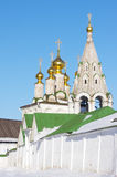 Old Russian monastery in Ryazan Royalty Free Stock Photography