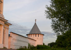 Old Russian Monastery in Vladimir Region Stock Image