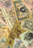 Old russian money background Royalty Free Stock Image