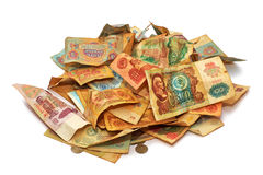 Old Russian money Stock Images