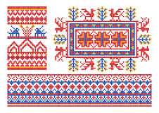 Old russian ornament. Stock Photos