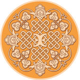Old russian ornament. Traditional carved old Slavoniс ornament vector illustration