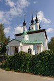 Old russian orthodox church Royalty Free Stock Photos