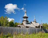 Old russian orthodox church Royalty Free Stock Photography