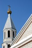 Old Russian orthodox church Royalty Free Stock Image
