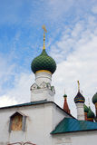 Old Russian orthodox church building. Stock Photo