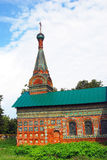 Old Russian orthodox church building. Royalty Free Stock Photos