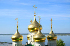 Old russian orthodox church Royalty Free Stock Photo