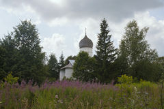 Old Russian Orthodox church Stock Image