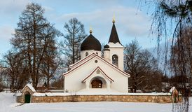 An old russian orthodox church Royalty Free Stock Images