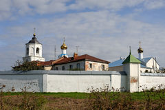 Old russian orthodox monastery Royalty Free Stock Photo