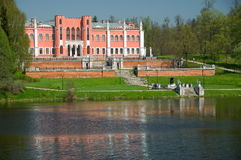 Old Russian palace Marfino Royalty Free Stock Photo