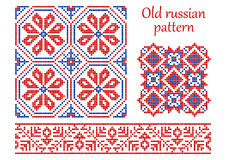 Old russian pattern. Stock Photography