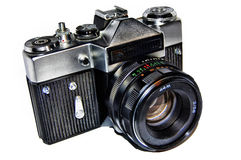 Old russian photo camera Royalty Free Stock Photography