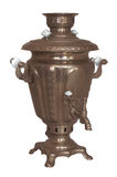 Old russian samovar. The old traditional russian samovar Stock Photography