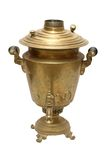 Old russian samovar Stock Photos