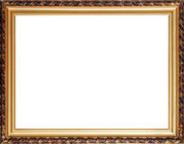 Old russian style photo frame Royalty Free Stock Photos