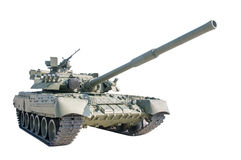 The old Russian tank Royalty Free Stock Image