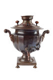 Old russian tea samovar Royalty Free Stock Images