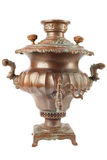 Old russian tea samovar Stock Photo
