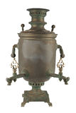 Old russian tea samovar Stock Images