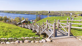 Old russian town Ples. Russia Royalty Free Stock Photography