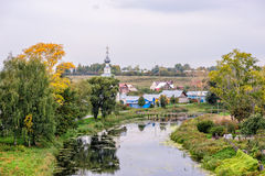 Old russian town Suzdal at autumn Royalty Free Stock Photography