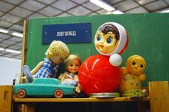 Old Russian toys Stock Images