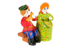 Old Russian Traditional Folk Dolls Royalty Free Stock Photo