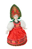 Old Russian Traditional Folk Dolls Stock Image
