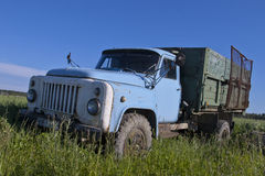 Old russian truck. Photo taken in June royalty free stock photos