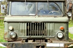 Old russian truck Royalty Free Stock Photo
