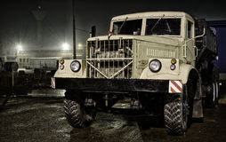 Old Russian truck Stock Image