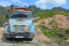 Old Russian Trucks. Abandoned