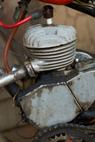 Old Russian two-stroke engine Royalty Free Stock Photos