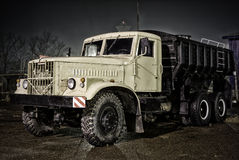 Old Russian vehicle Royalty Free Stock Photos