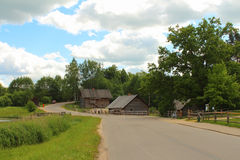 Old russian village Royalty Free Stock Photo