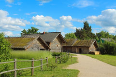 Old russian village Royalty Free Stock Images
