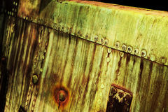 Old rust metal plate background Royalty Free Stock Photo