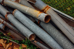 Old rust outfalls Royalty Free Stock Images