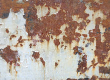 Old rust surface background and texture Royalty Free Stock Photos