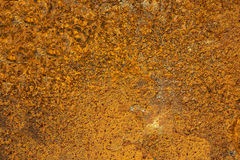 Old rust surface background and texture Royalty Free Stock Photography