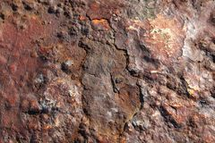 Old rust texture abstract grunge background various colours. Old rusty steel metal grunge look for abstract background something rusty with beautiful colours Royalty Free Stock Photos
