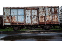Old rust train. In Thailand for background Royalty Free Stock Photos